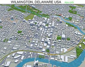 Wilmington Delaware USA 15km 3D asset