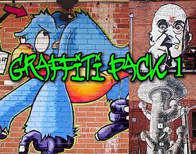 Graffiti Textures Pack 3D