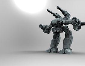 3D print model Mech Stone Rhino - Behemoth