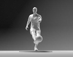 3D print model Footballer 02 Footstrike 08 Stl