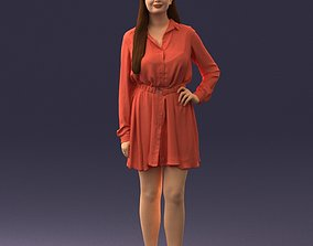 Beautiful woman 0628 3D Print Ready