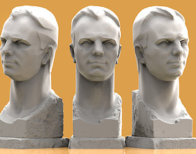 Gagarin photogrammetry 3D print model