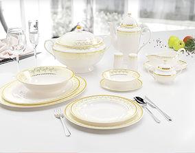 3D Luxury table set