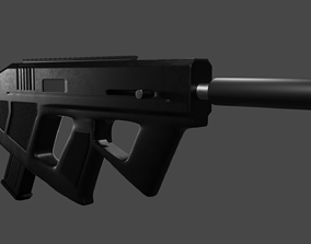 ND1 SMG Own Design 3D weapon