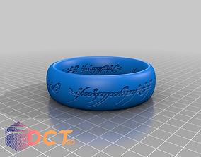 Precious ring 3D printable model art