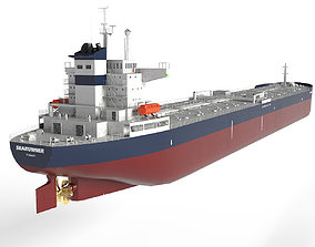 3D model Oil Tanker Panamax 245m