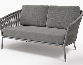 3D Cosmo lounge 2-seater by Fischer Mobel