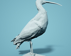 Wulp Low Poly Bird 3D printable model