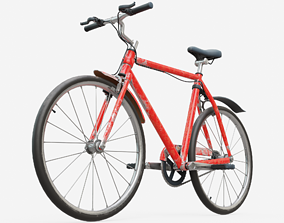 Bicycle Generic 3D asset