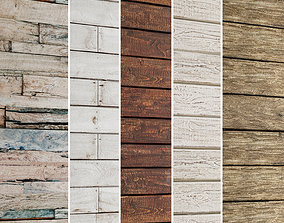 3D model Wooden Plank Collection 5