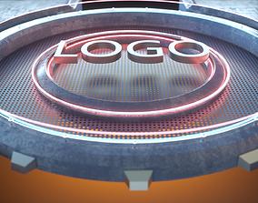 3D model Charging Logo