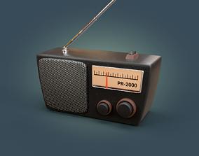 3D asset Radio Simple