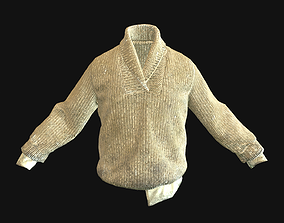 Sweater 3D asset low-poly