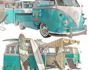 Volkswagen Surf T1 3D