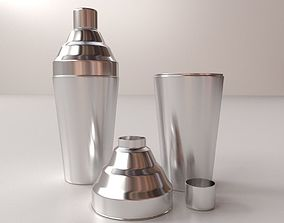shaker Cocktail Shaker 3D