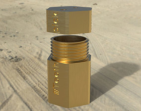 Tooth picks box - tank 3D printable model