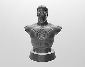 Green Lamtern Bust 3D print model