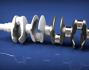 3D model Crank shaft