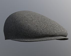 3D asset Flatcap