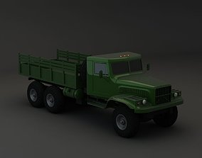 Truck KRAZ 255 B Modify 3 3D