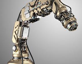Robotic Arm 2b Rigged 3D model