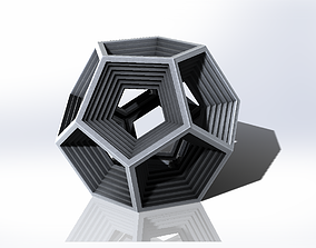 3D printable model Dodecagon