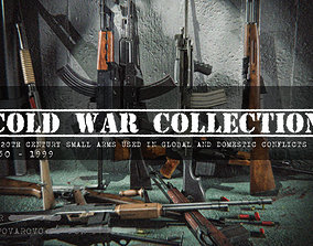 Cold War Weapons Collection 3D model