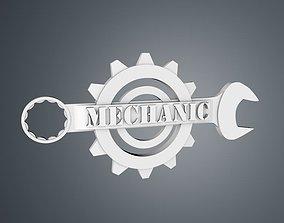 Mechanic Logo 3D