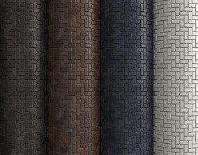 3D model Materials 5- Brick Tiles PBR