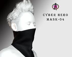 3D asset Cyber Hero - Mask04