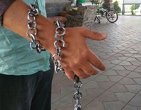 3D print model Mortal Kombat Scorpion Chains and Spear