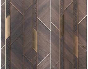 3D model Decor wood panel 41