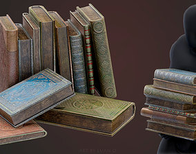 3D model realtime Old Books