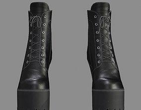 FVX400 Ankle Boots 3D asset