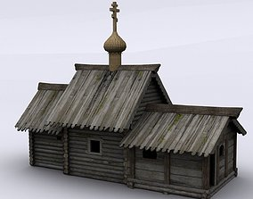 3D asset Church of the resurrection of Lazarus