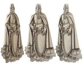 bas knight 3D print model