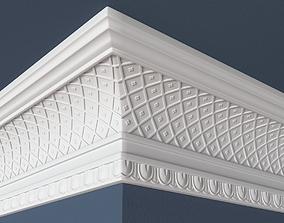 architecture Decorative Crown Molding 3D