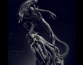 Alien Statue Fanart 3D print model