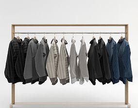 Clothing Rack 2 3D model