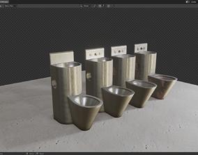 3D asset Prison Toilet HDTX850
