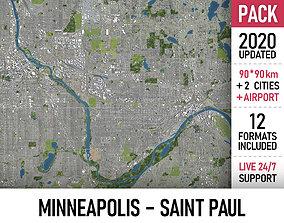 Minneapolis - Saint Paul 3D