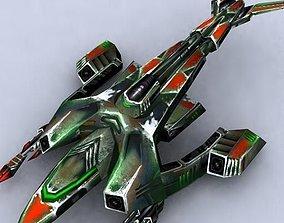 3DRT - Sci-Fi Fighters Fleet - Fighter 12 VR / AR ready