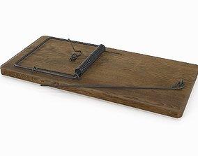 rat mousetrap 3D model