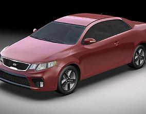 Kia Forte Koup 2010 3D model