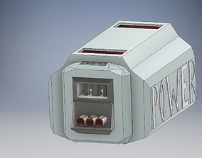 Space Engineers Battery Cell 3D print model