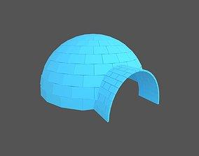 3D model Igloo v1 004