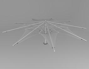 3D model Membrane Tent 1