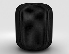 Apple HomePod Black 3D model
