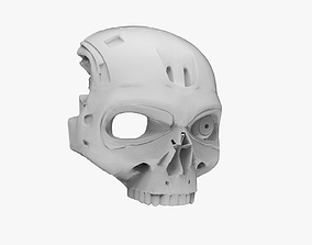 3D print model Terminator Skull Mask