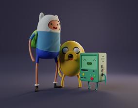 Adventure time 3D art